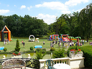 ISB Sommerolympiade: Attraktionen im Schlosspark