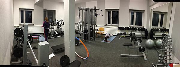 Fitnessstudio im Internat Schloss Buldern