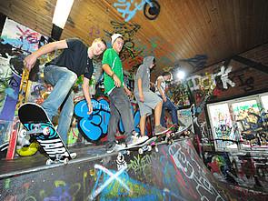 Bild Skater-Raum am Schloss Buldern