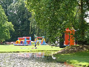 ISB Sommerolympiade Attraktionen im Schlosspark